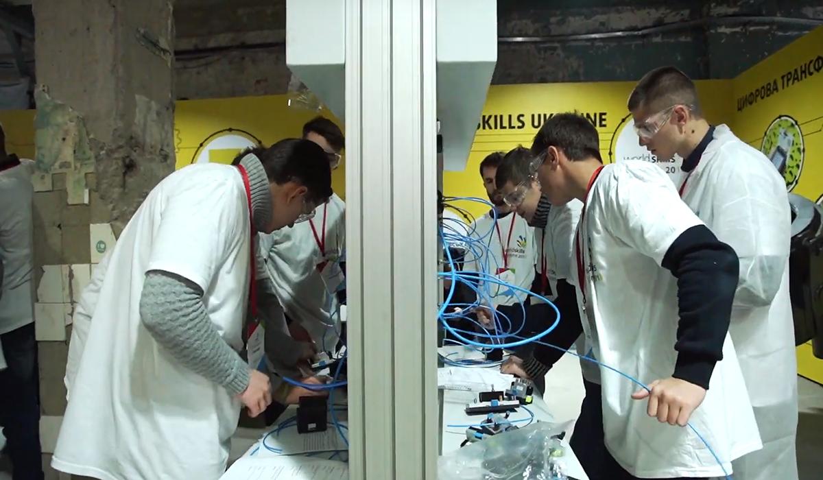 WorldSkills Ukraine 2018 відео з робочих майданчиків