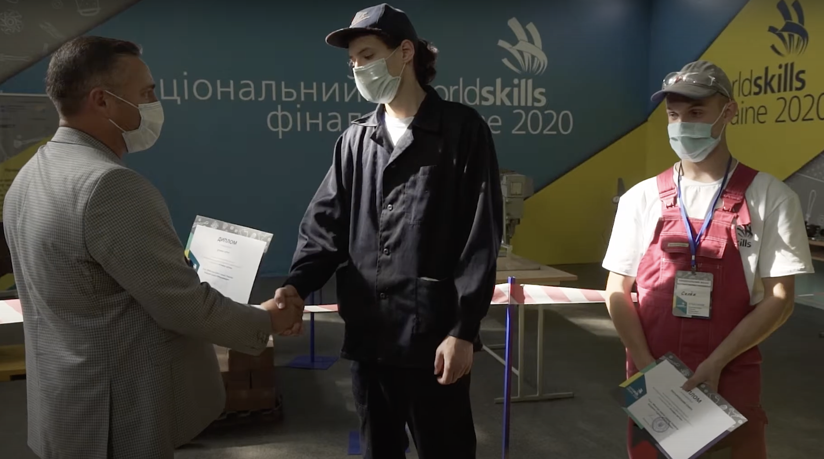 Перший конкурсний день в м. Запоріжжі. Фінал #WorldSkills Ukraine2020. Компетенції: «Зварювальні роботи», «Кладка цегли»
